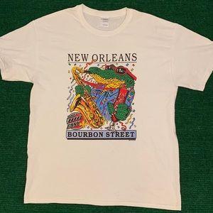Vintage 90s New Orleans gator t shirt